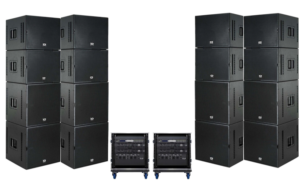 full range audio for events of all sizes