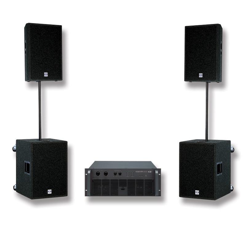 full range audio sound