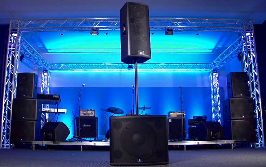 speakers and audio systems for corporate events