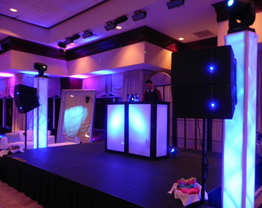PA audio system for corporate events