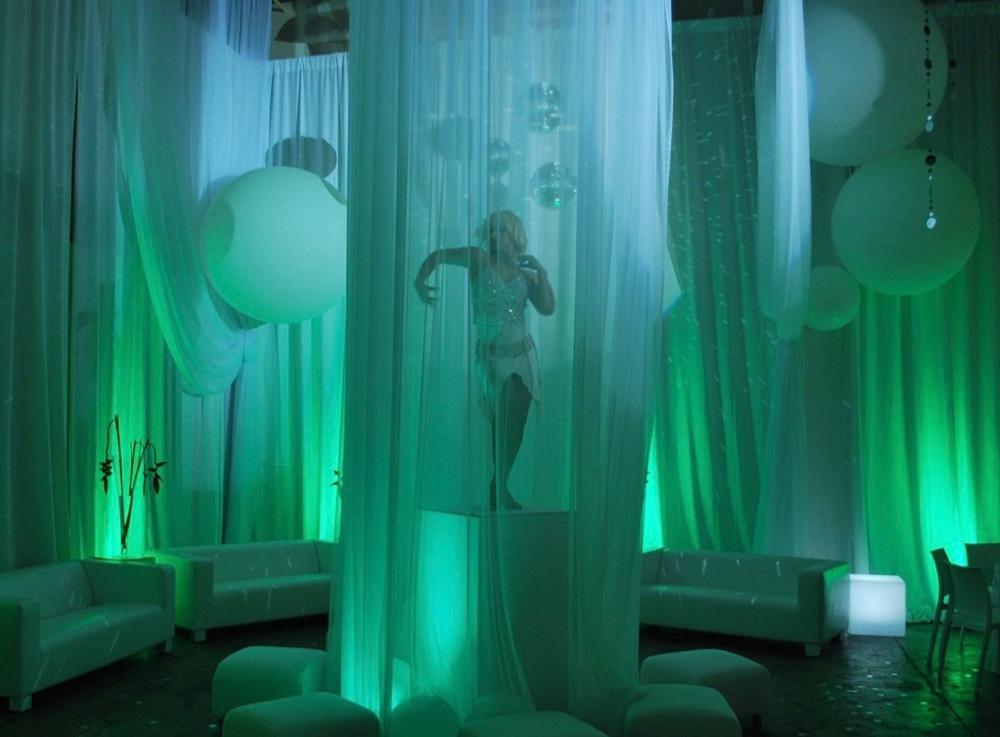 up-lights - indoors