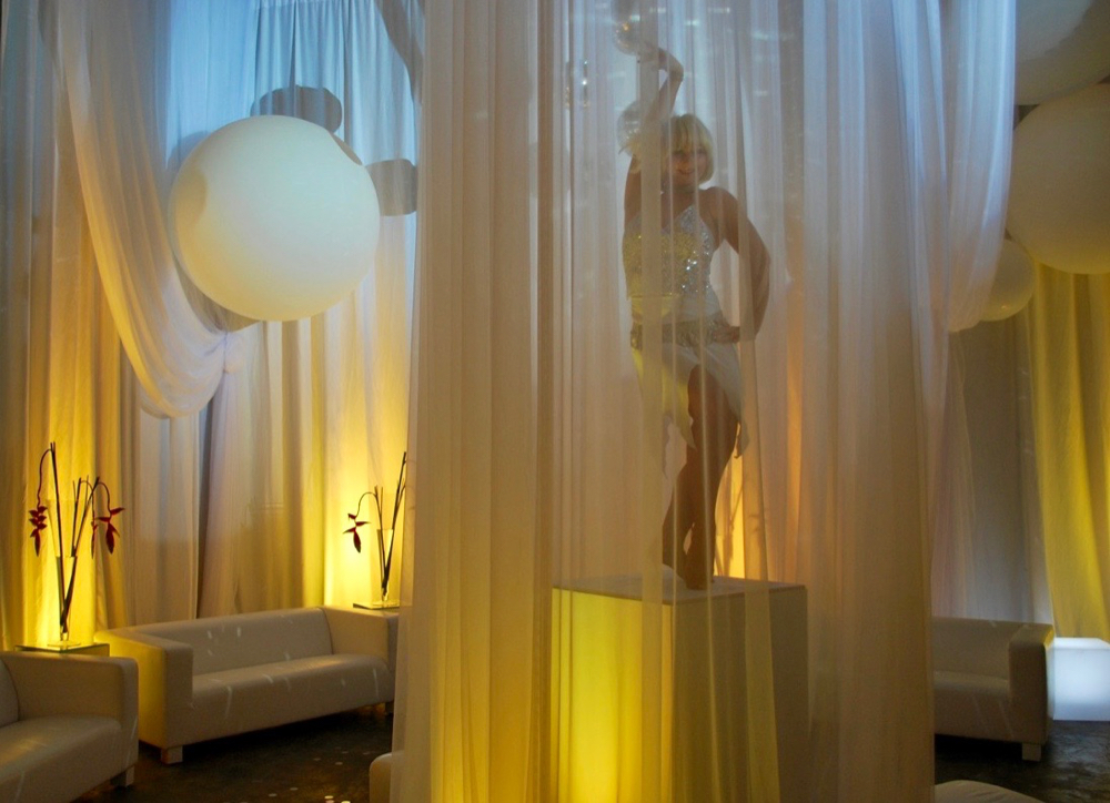 inddor lighting for events and functions