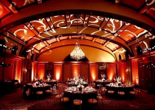 atmosphere lighting for indoor events